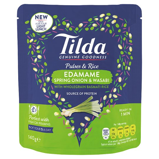 image 1 of Tilda Pulses And Rice Edamame 140G