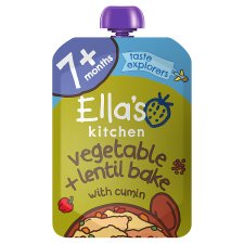Ella's Kitchen Vegetable Bake With Lentils 130G