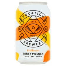 Vocation Brewery Dirty Pilsner Can 330Ml
