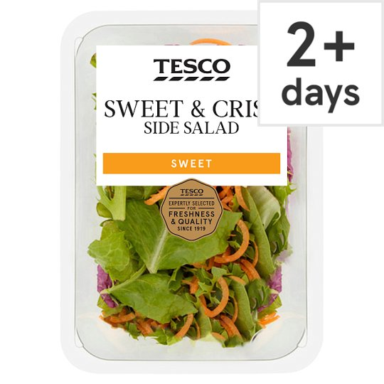 image 1 of Tesco Sweet Crisp Salad 128G