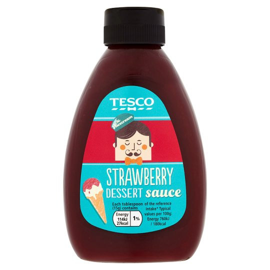Tesco Strawberry Dessert Sauce 280G