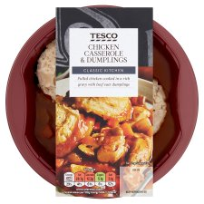 Tesco Chicken Casserole And Dumplings 450G