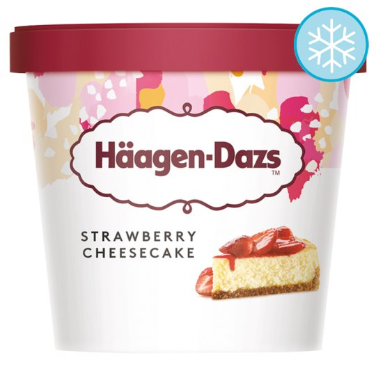 Haagen-Dazs Strawberry Cheesecake Ice Cream 100Ml