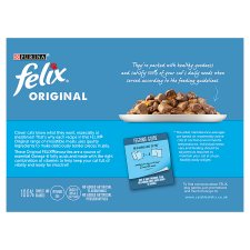 image 2 of Felix Cat Food Fish Selection In Jelly 12 X 100G