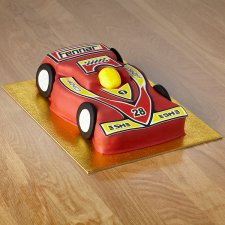 Tesco Racing Car Cake