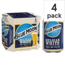 Blue Moon 4 Pack 4X330ml