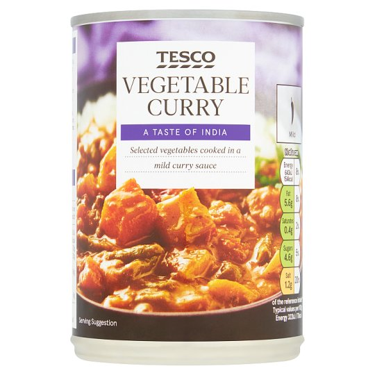 Tesco Vegetable Curry 400G