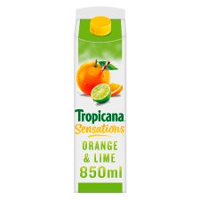 Tropicana Orange And Lime Juice 850 Ml