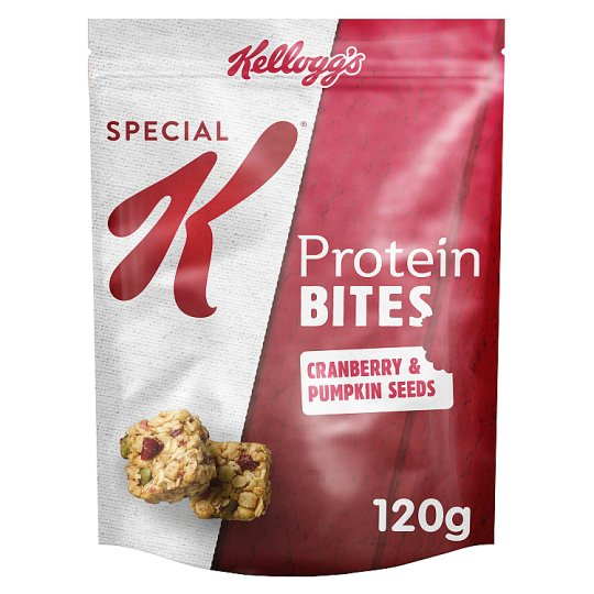 Kellogg's Special K Protein Bites Cranberry And Pumpkin Seeds 120G