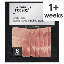 Tesco Finest Smoked Applewood Ham 125G
