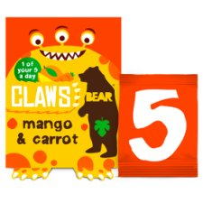Bear Claws Mango Carrot 5X18g