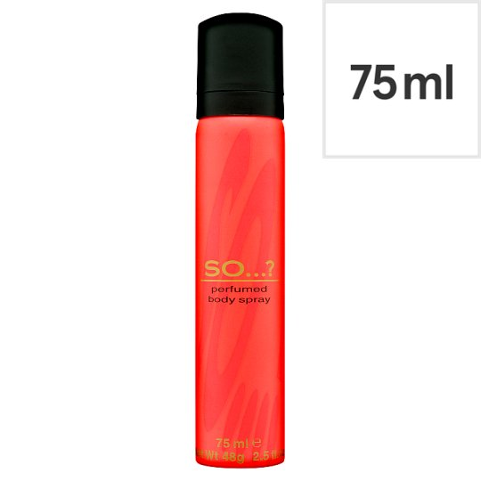 So...? Body Spray 75Ml