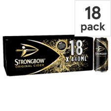 Strongbow Apple Cider 18X440ml Can