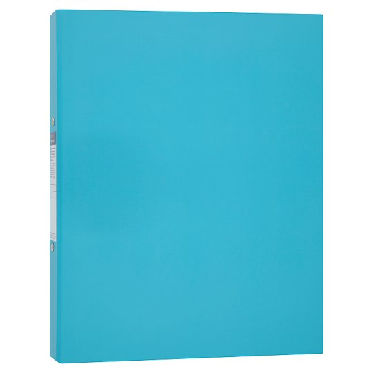 Tesco A4 Ring Binder Blue