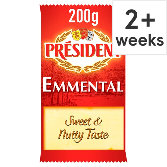 President Emmental Cheese 200 G