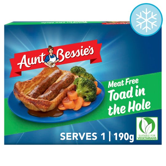 Aunt Bessie's Meat Free Toad In The Hole 190G