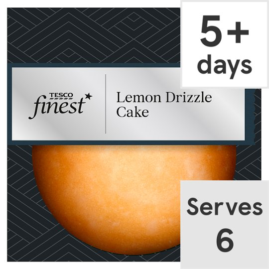 image 1 of Tesco Finest Lemon Drizzle Cake