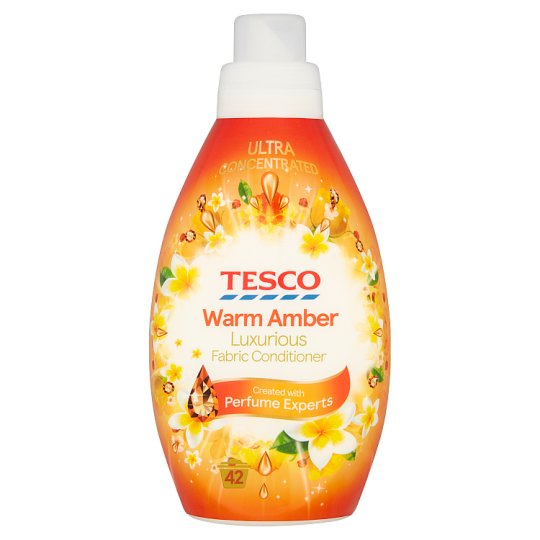 Tesco Warm Amber Fabric Conditioner 42 Washes 840Ml