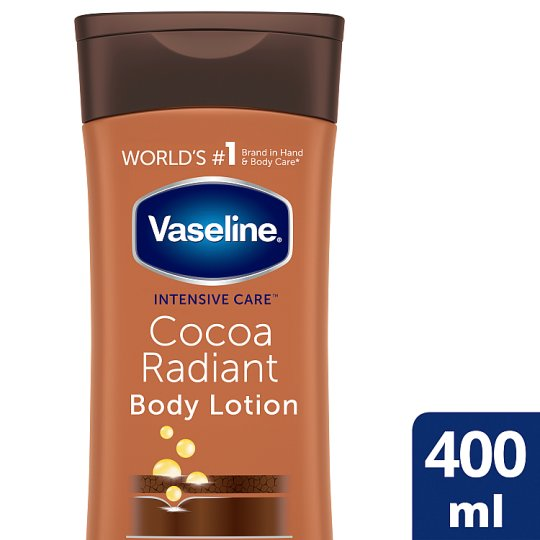 Vaseline Intensive Care Cocoa Body Lotion 400Ml