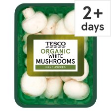 image 1 of Tesco Organic White Mushrooms 290G