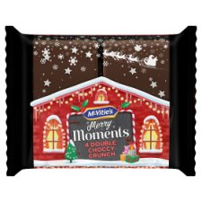 Mcvities Merry Moments Double Chocolate Crunch 4 Pack