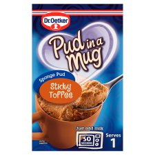 Dr Oetker Sticky Toffee Pudding In A Mug 70G