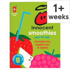 Innocent Kids Strawberry Raspberry & Apple 4X150ml