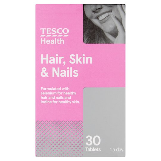 Tesco Multiplus Hair Skin Nails X 30