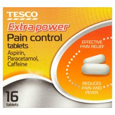 Tesco Dual Action Pain Relief 16 Tablets