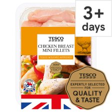 Tesco Mini Chicken Fillets 650G