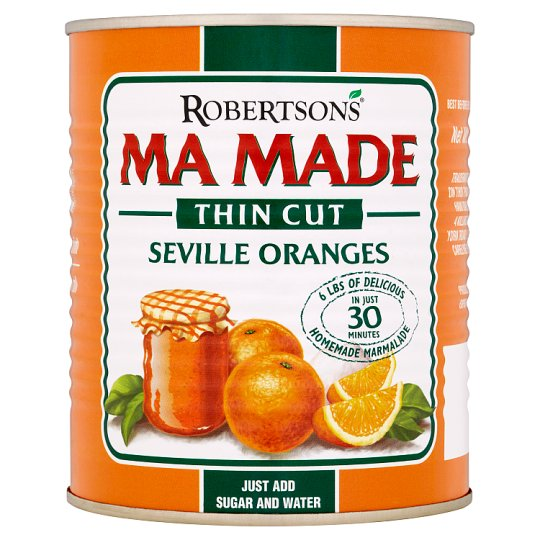Mamade Prepared Seville Oranges Thin Cut 850G