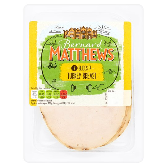 Bernard Matthews Sliced Turkey Breast 140G