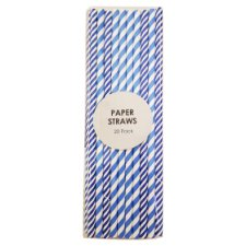 image 1 of Paper Straws 20 Pack