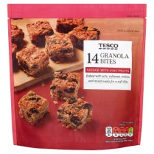 Tesco Granola Bites Pouch 14 Pack