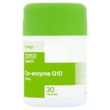 Tesco Co- Enzyme Q10 100Mg 30S