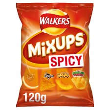 Walkers Mix Ups Spicy Snacks 120 G