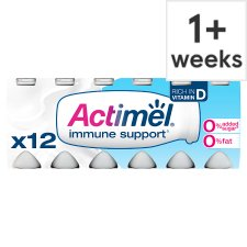 image 1 of Actimel Fat Free Original Yogurt Drink 12 X100g