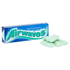image 2 of Airwaves Menthol And Eucalyptus Gum 10 Pieces