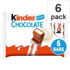 Kinder Snack Bars 6 Pack 126G
