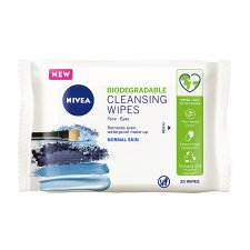Nivea Biodegradable Refreshing Cleansing 20 Face Wipes