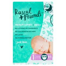 Rascal And Friends Essential Nappies Size 1 44 Pack