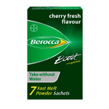 Berocca Boost Fast Melt Powder Energy Sachet 7S