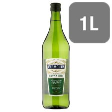 Tesco Extra Dry Vermouth 1Ltr
