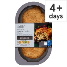 Tesco Finest 2 Cod And Parsley Fishcakes 290G