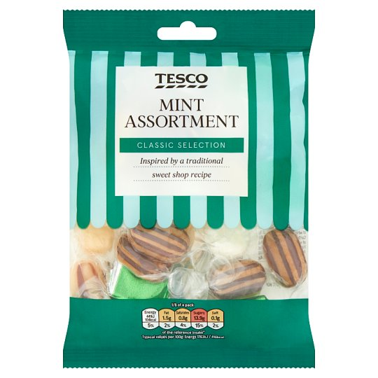 Tesco Mint Assortment 200G