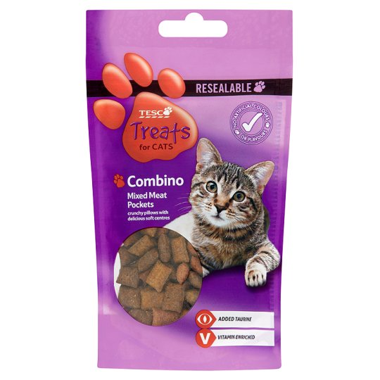 T.Combinos Mixed Meat Pockets For Cats 65G