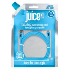 Juice Lightning Data Cable 2M Blue