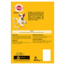 image 3 of Pedigree Small Dog Chicken And Vegetable Dry Dog Food 900G