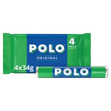 Nestle Polo Tube Multipack 4 X 34G