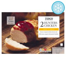 Tesco 2 Hunters Chicken 410G